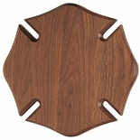 10 X 10 WALNUT MALTESE CROSS