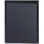 8 X 10 BLACK PIANO FINISH PLAQUE