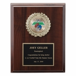 7 X 9 INCH PLAQUE WITH BLACK PLATE TAKES INSERT