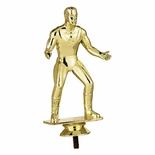 WRESTLER MALE TROPHY FIGURE