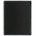 12 X 15 PIANO FINISH BLACK PLAQUE