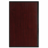 12 X 15 PIANO FINISH ROSEWOOD PLAQUE