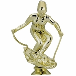 SKIER FEMALE TROPHY FIGURE