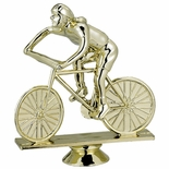BICYCLE FEMALE TROPHY FIGURE