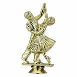 DANCING COUPLE TROPHY FIGURE