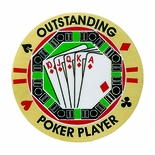 OUTSTANDING POKER PLAYER