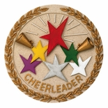 CHEERLEADER PLAQUE MOUNT