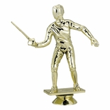 FENCING MALE TROPHY FIGURE