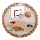 BASKETBALL PLAQUE MOUNT