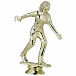 HORSESHOE FEMALE TROPHY FIGURE
