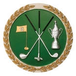 GOLF PLAQUE MOUNT