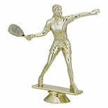 RACQUETBALL FEMALE TROPHY FIGURE