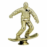 SNOWBOARD MALE TROPHY FIGURE