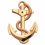 METAL ANCHOR, GOLD 2-1/4