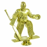 ICE HOCKEY MALE GOALIE TROPHY FIGURE