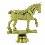 DRAFT HORSE TROPHY FIGURE