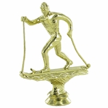 SKIING X-COUNTRY MALE TROPHY FIGURE
