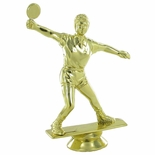 TABLE TENNIS FEMALE TROPHY FIGURE