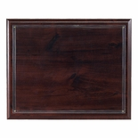 10-1/2 X 13 INCH WALNUT PLAQUE HOLDS 8-1/2 X 11 INCH CERTIFICATE