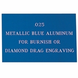 12X24 METALLIC BLUE ALUMINUM, .025