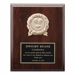 8 X 10 INCH PLAQUE WITH BLACK PLATE TAKES INSERT