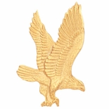EAGLE PIN GOLD, QUALITY CLUTCH
