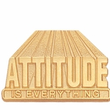 ATTITUDEIS EVERYTHING PIN