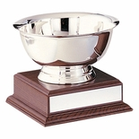 6 INCH PAUL REVERE SILVER BOWL ON BASE