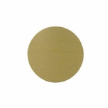 1 INCH SATIN BRASS DISC