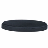 6 X 9-1/2 X 1 BLACK OVAL BASE