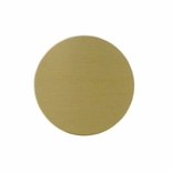 2 INCH SATIN BRASS DISC