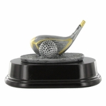 GOLF DRIVER RESIN FIGURE