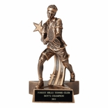 TENNIS MALE RESIN TROPHY - NO PLATE