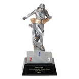 TRACK FEMALE FIGURE TROPHY - NO PLATE