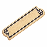 SMALL SERVICE BAR ENAMELED PIN