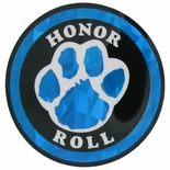 HONOR ROLL PAW PRINT