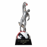 VOLLEYBALL MALE FIGURE TROPHY - NO PLATE