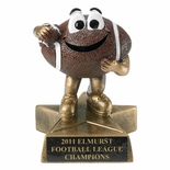 SMALL RESIN FOOTBALL TROPHY