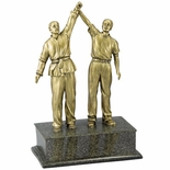 RESIN MARTIAL ARTS TROPHY
