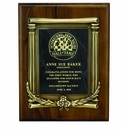 Award Plaques with High Relief Frames