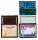 Certificate Plaques, Certificates only, Certificate Holders, Photo Plaques