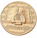 Music, Art, Drama and Dance Medallion Inserts