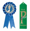 Satin Imprinted Award Ribbons and Rosette Ribbons