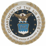 DEPARTMENT OF THE AIR FORCE, PLAQUE MOUNT