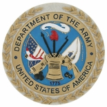 DEPARTMENT OF THE ARMY, PLAQUE MOUNT