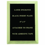 PLASTIC FRAME FOR PLATE