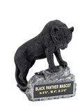 BLACK PANTHER MASCOT TROPHY WITHOUT PLATE
