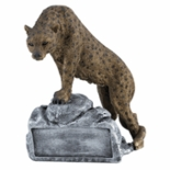 LEOPARD MASCOT TROPHY WITHOUT PLATE