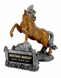 MUSTANG MASCOT TROPHY WITHOUT PLATE