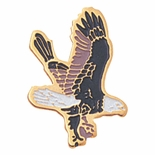 FALCON PIN  ENAMELED